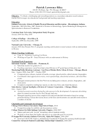 Resume Education Section Example by Education On Resume Examples Resume Badak