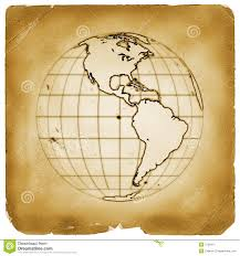 Old Map South America by Ancient Geographic Map Of South America Stock Photo Image 54358771