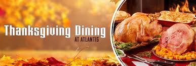 thanksgiving dining at atlantis