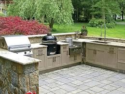 cuisine exterieure beton plan de travail exterieur en beton pour cuisine exterieure