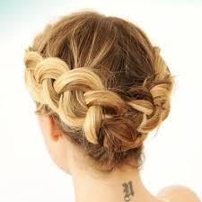large hair pleats 9 braids that look amazing on short hair byrdie uk