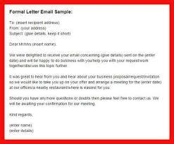 email sample apa example