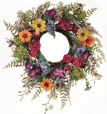 wreaths extraodinary silk wreaths for front door astonishing