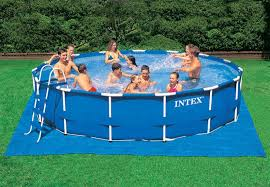 ground cloth for 8ft to 15ft pools intex