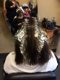 where to place foils in hair foil placement for highlights www nataliethehairstylist com