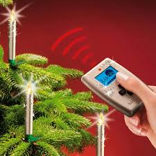 wireless led tree candles with remote
