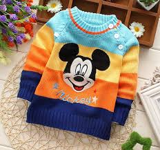 Sweaters For Toddler Boy Wholesale Winter Autumn Infant Children Boy Child Character