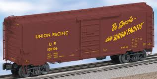box car train union pacific ps 1 boxcar 100306