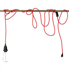 in pendant light fixtures color cord company