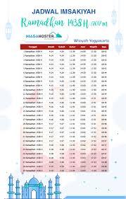 Jadwal Sholat Jogja Jadwal Imsakiyah Ramadhan 1438 H Jogjakarta 2017 Niagahoster