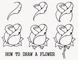 drawing flowers for kids drawing art gallery