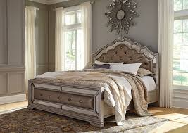 american furniture design birlanny silver queen upholstered bed