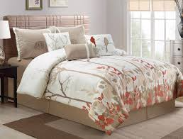 theme comforter bedding with birds on it