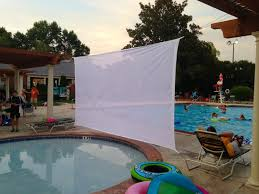 theater scrim material outdoor projection screens