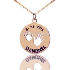 monogram disc necklace personalized name bar necklace gold color monogram disc