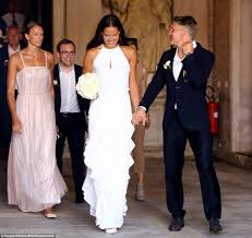 ana ivanovic marries footballer bastian schweinsteiger in venice