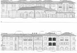 Nursing Home Floor Plans Three Story Assisted Living Facility In Spanish Springs To Be