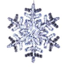outdoor hanging snowflake lights buy hanging twinkle snowflake 20 inch cool white outdoor led