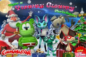 send a yummy gummy christmas ecard gummibär