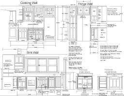 Kitchen Cabinet Dimensions Kitchen Design Blueprints Kitchen Design Blueprints And Old World