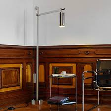 floor lamp in the bauhaus style with counterweight lights co uk