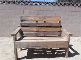 Simple Park Bench Plans Free by Pallet Bench Simple To Build Youtube