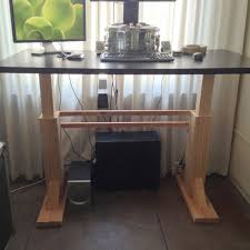 electric height adjustable desk 6 steps with pictures
