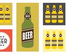 Beer Home Decor Mid Century Modern Salute To Beer Mid Century Beer Beer Print