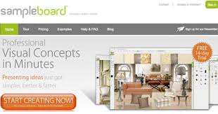 home design board mood boarding methods for web designers