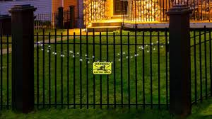 occasions halloween electric lighted fence youtube
