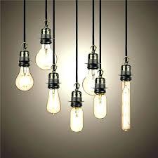 Pendant Light Cords Minimalist Pendant Light Cord Kit Hanging Bulb Cords View In