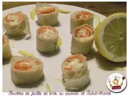 cuisiner feuille de brick recette bouchées saumon et st moret en feuille de brick 750g