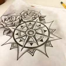 sometimes i get bored at work art compass rose drawing sketch