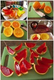 tutorial naranjas en gelatina educacion pinterest jello