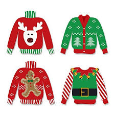 Ugly Christmas Sweater Decorations Ugly Christmas Sweater Decorations Amazon Com