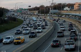 thanksgiving travel begins as 45m hit the road daily
