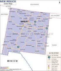 usa map states new new mexico state map