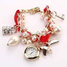 women bracelet watches images 2015 korean fashion women bracelet watches big girls lady lock key jpg