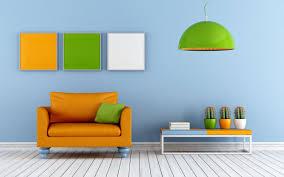 Orange Living Room Design Wallpaper Download Desktop - Orange living room design