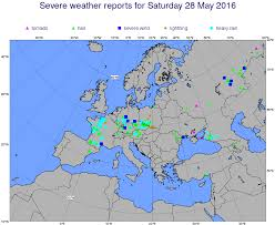 European Weather Map by 201605 Convection Europe Forecast User Ecmwf Confluence Wiki