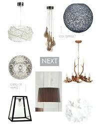 Next Pendant Light Easy Fit Pendant Lights Palazzo Glass And String Easy Fit Pendant