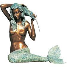 Mermaid Garden Decor 15 Best Angels Mermaids Fairy Garden Decor Images On Pinterest