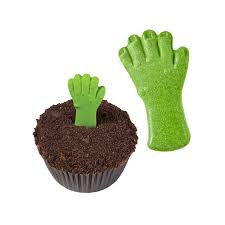 edible monster hands cupcake toppers halloween the cake