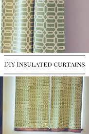 Diy Black Out Curtains Diy Insulated Curtains How To Create Insulated Blackout Curtains