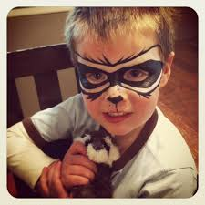 rocket racoon face paint rocket pinterest racoon raccoons