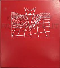 1984 pontiac fiero repair shop manual original