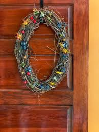 easy to make halloween wreaths 8 diy fall wreaths to dress up your front door hgtv u0027s decorating