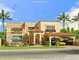 3d front elevation com pakistan front elevation of house exterior