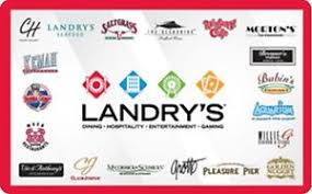 s gift card landry s gift card 25 50 100 email delivery ebay