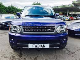 blue land rover used blue land rover range rover sport for sale swansea